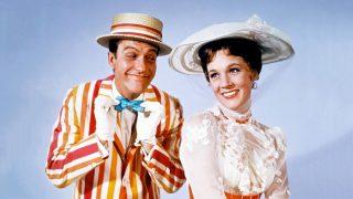 Dick Van Dyke en el clásico infantil 'Mary Poppins'.