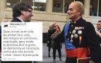 """El actor separatista de TV3 Toni Albà llama """"mala puta"""" a Inés Arrimadas"""