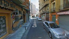 Calle Antonio Agustín en Zaragoza.