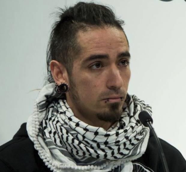 Rodrigo Lanza, presunto asesino de un hombre almque dio una paliza por llevar los colores de la bandera de España
