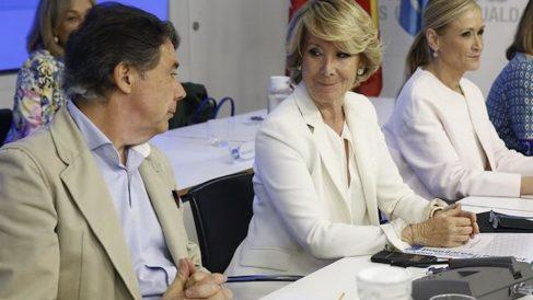 Ignacio González, Esperanza Aguirre y Cristina Cifuentes.