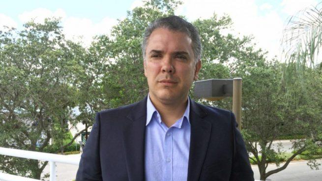 Iván Duque, candidato de Centro Democrático a las presidenciales colombianas.