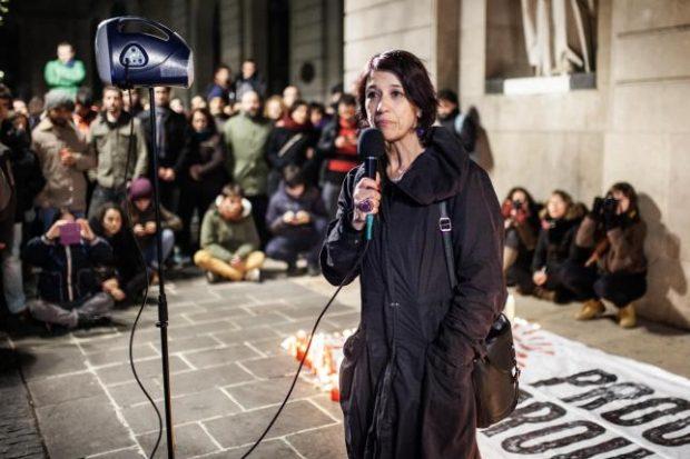 Mariana Huidobro en un acto público en 201