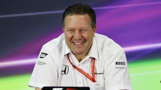 Zak Brown, CEO de McLaren, ha reconocido la frustración de Alonso esta temporada por los malos resultados causados por Honda. (Getty)