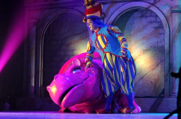 Una escena del espectáculo 'Galtük, un sueño de navidad'.