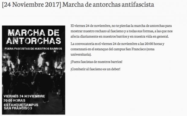 El alcalde podemita de Zaragoza ampara al colectivo okupa que frecuentaba el asesino hispanófobo