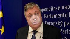 Leopoldo López Gil, en el Parlamento Europeo.