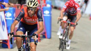 Vincenzo Nibali ataca en la última edición de la Vuelta a Chris Froome.