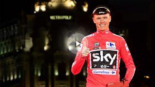 Chris Froome, ganador de la Vuelta a España 2017. (Foto: AFP)