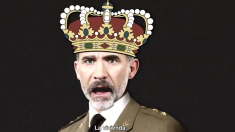 El Rey Felipe VI, en el vídeo electoral grabado por la productora de «Ciutat morta».