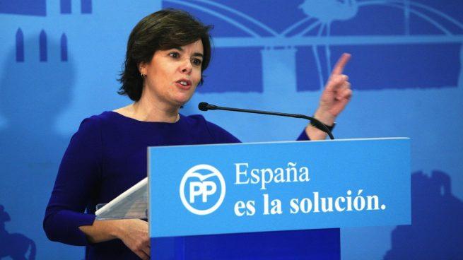 PP | Rueda De Prensa De Soraya Sáenz De Santamaría Y Manuel Valls Saenz-de-santamaria-655x368