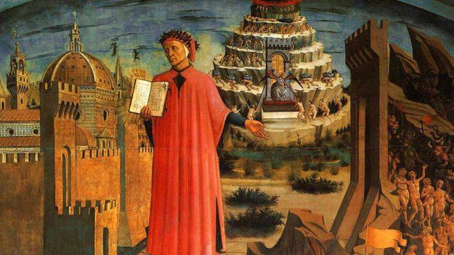Resultado de imagen de Divina Comedia de Dante Alighieri