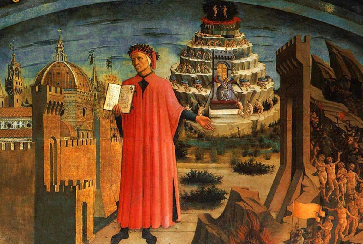 Características generales de La Divina Comedia, de Dante