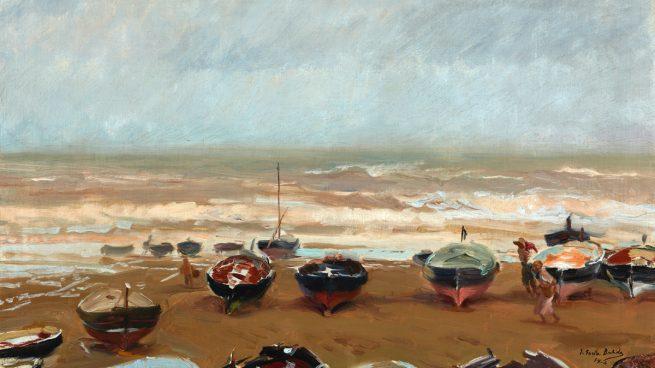 'Tarde tormentosa', de Joaquín Sorolla.