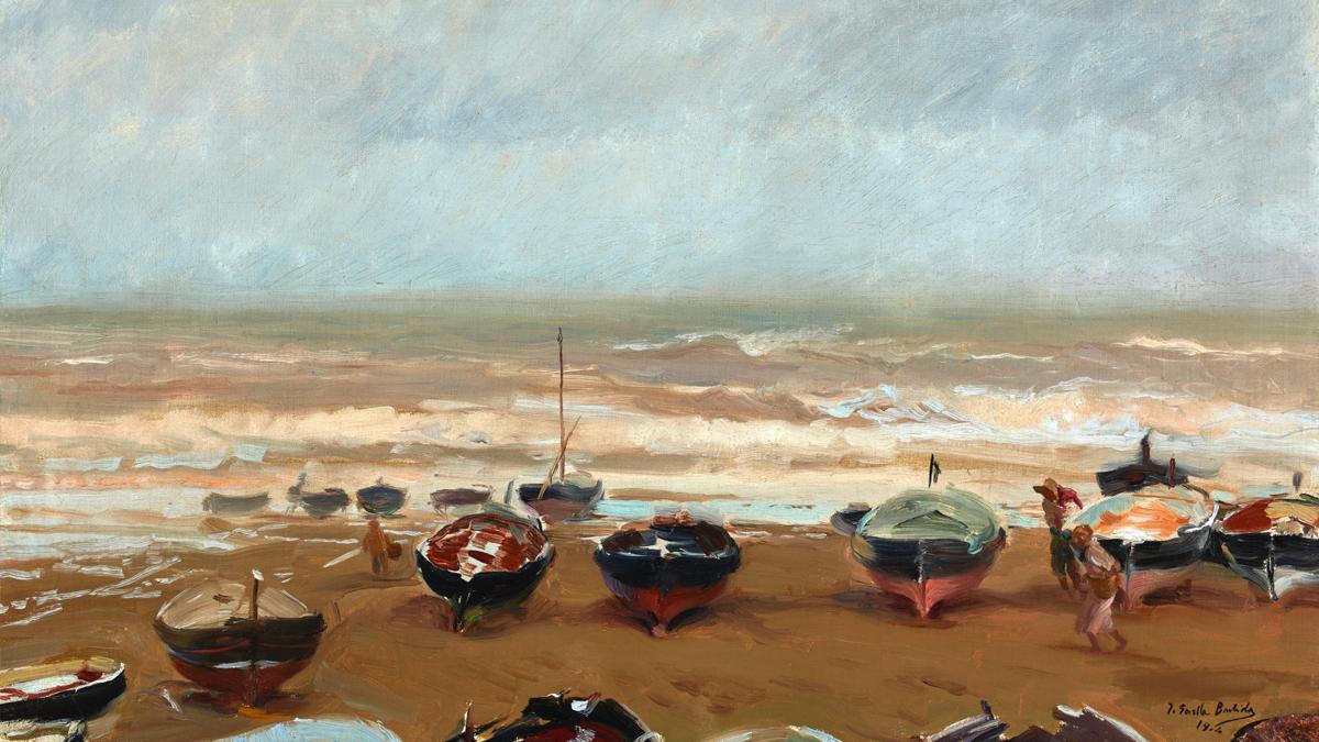 'Tarde tormentosa', de Joaquín Sorolla (1904).