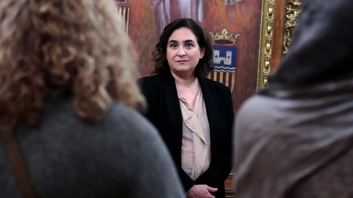 La alcaldesa de Barcelona, Ada Colau. (Foto: Ayto. Barcelona)