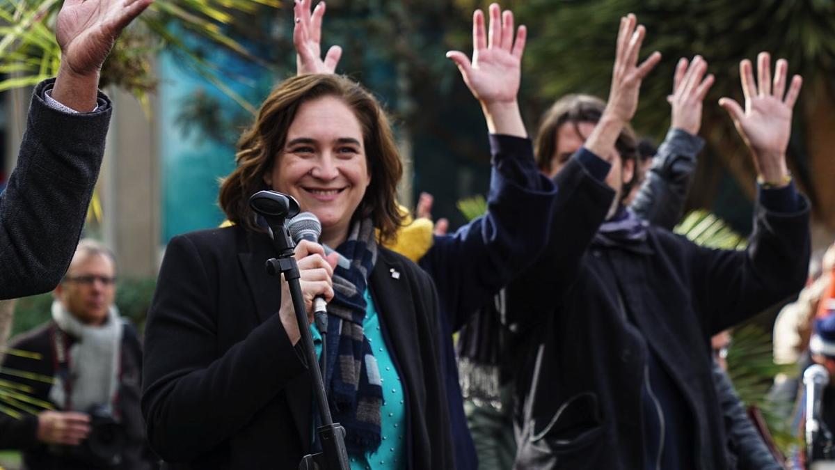 La alcaldesa barcelonesa, Ada Colau. (Foto: Barcelona)