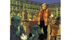 Christmas de la alcaldesa en el 2017/18, una ilustración de Paco Roca.