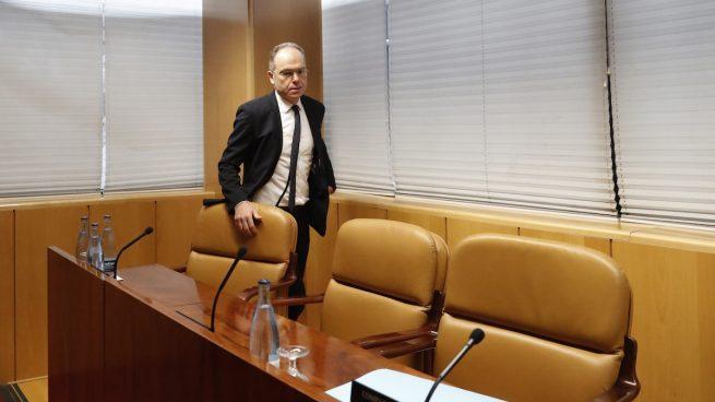 Juan Bravo, exconsejero de Hacienda de la Comunidad de Madrid y presidente de ADIF en la Asamblea de Madrid (Foto: Efe).