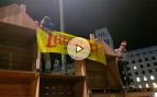 Fracasa la manifestación en Barcelona por los golpistas presos: apenas acuden 100 personas