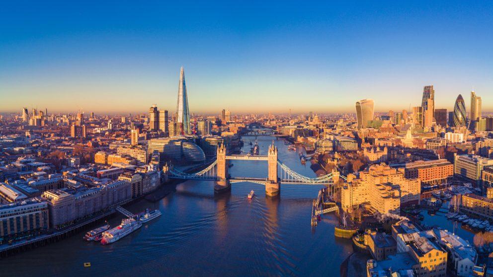 Vista aérea de Londres. (Foto: iStock)