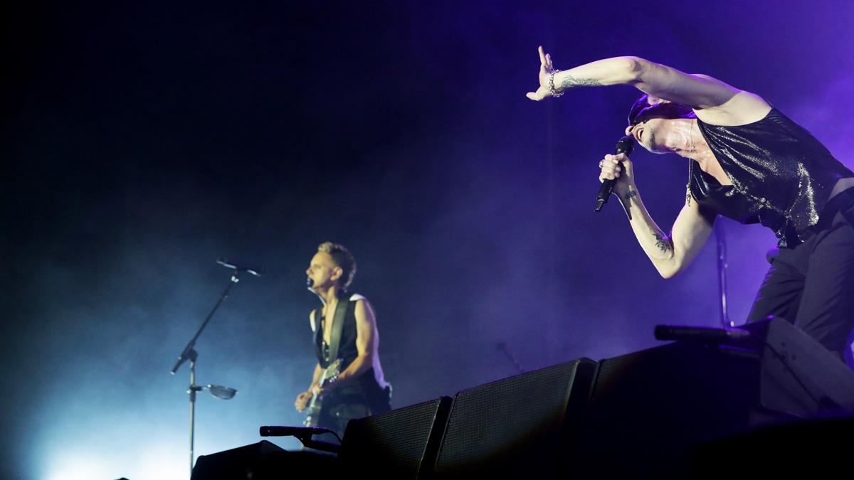 Depeche Mode en Madrid (Foto: AFP)