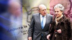 El ex presidente de la Generalitat Jordi Pujol Soley y su mujer, Marta Ferrusola.
