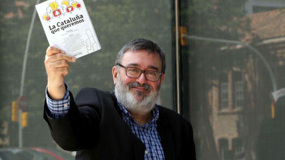 El director de ElCatalán.es, Sergio Fidalgo.