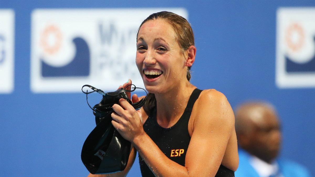 Jessica Vall, campeona de Europa. (Getty)