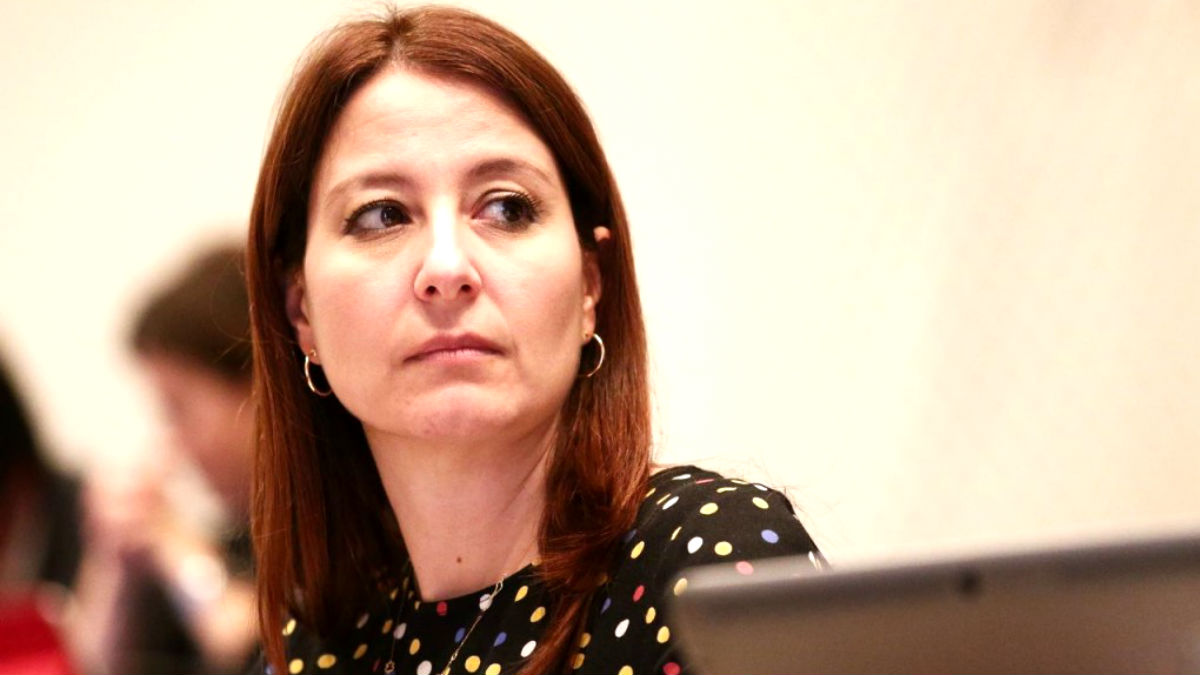 La diputada de Ciudadanos Sonia Sierra.