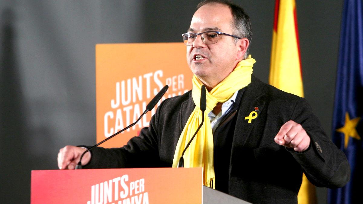 Jordi Turull en un acto de campaña (Foto: Efe).