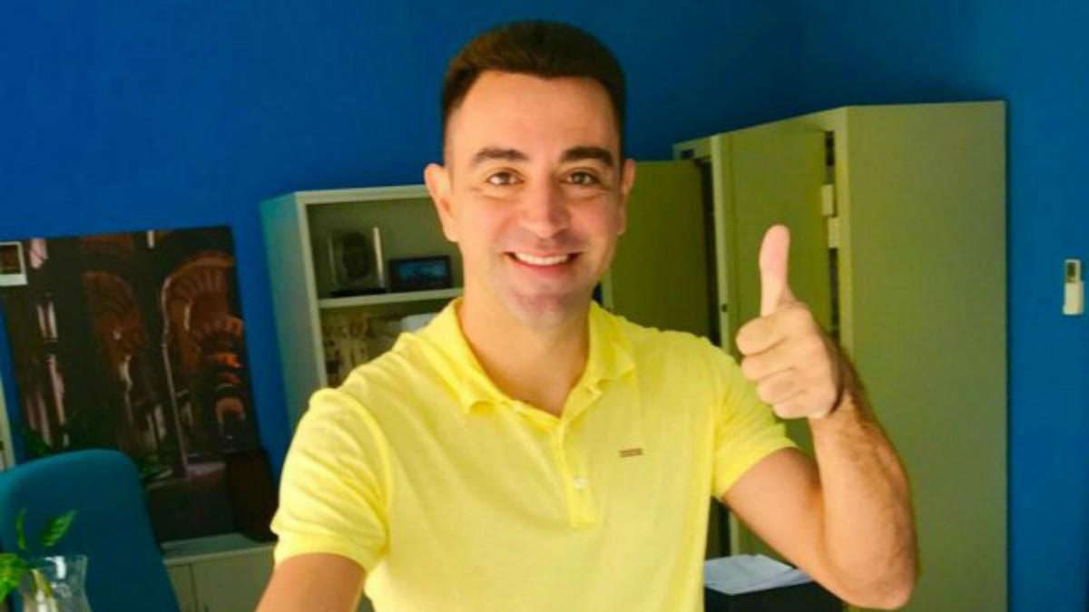Xavi Hernández confirmó que votó de amarillo en señal de protesta.