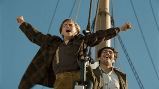 Famosa escena de la película 'Titanic', de James Cameron.