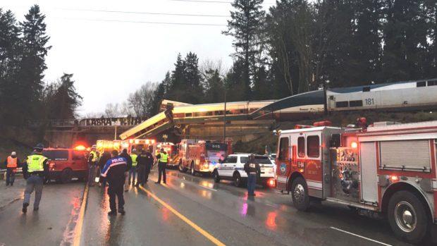 Accidente tren Washington