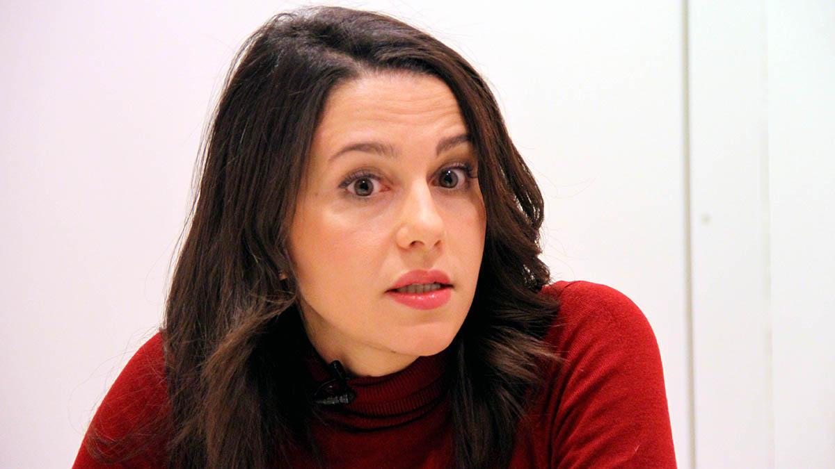 Inés Arrimadas. (Foto: Enrique Falcón)