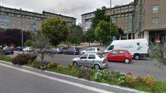 Vista de la calle Gregorio Espino, en Vigo, donde se produjo el suceso.