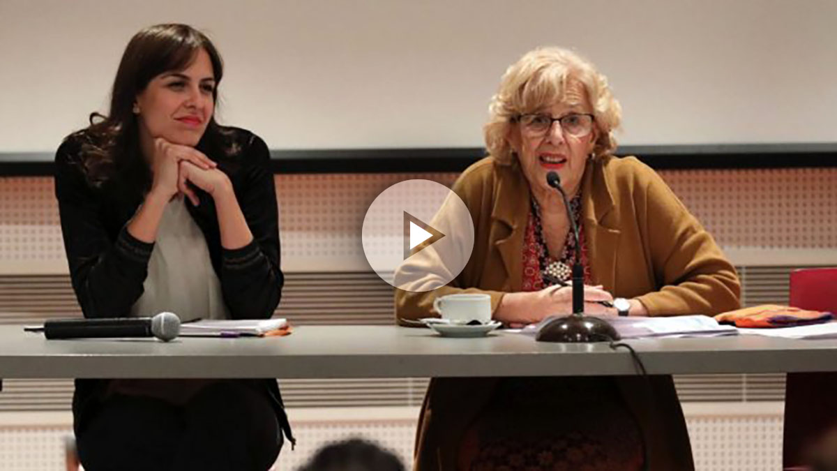Manuela Carmena y Rita Maestre.