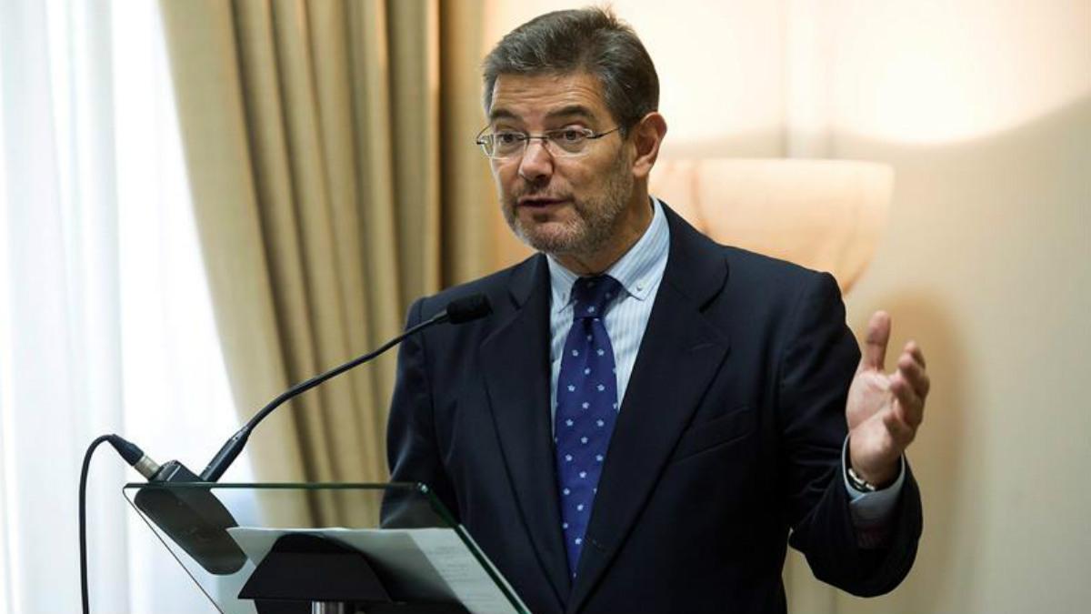 El ministro de Justicia, Rafael Catalá. (Foto: EFE)