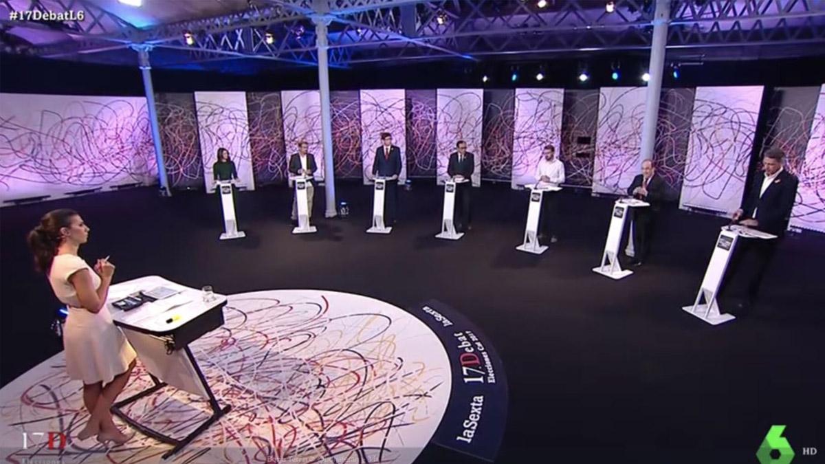 Debate electoral del 17D.