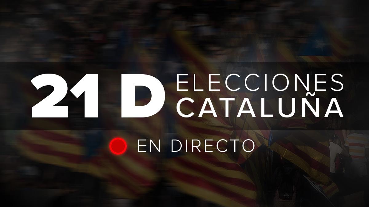 Sigue en directo las elecciones catalanas del 21D.