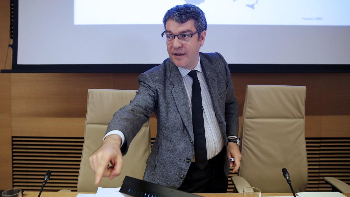 El ministro de Energía, Álvaro Nadal. (Foto: EFE)