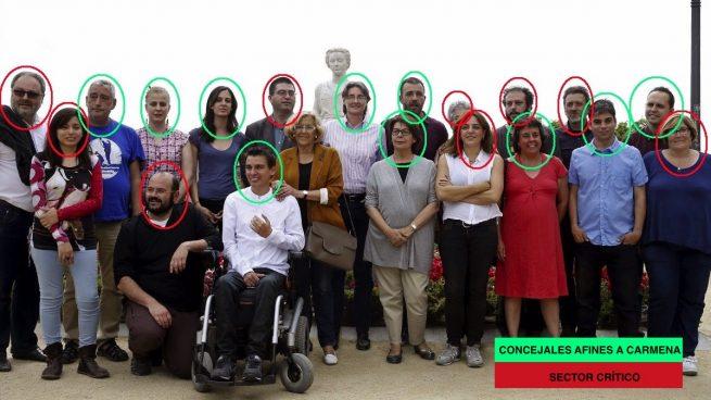 Ahora Madrid está roto: Carmena conserva 10 concejales afines y 9 están en contra