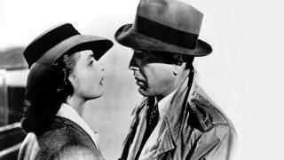 Ingrid Bergman y Humphrey Bogart en Casablanca (Foto. Getty)