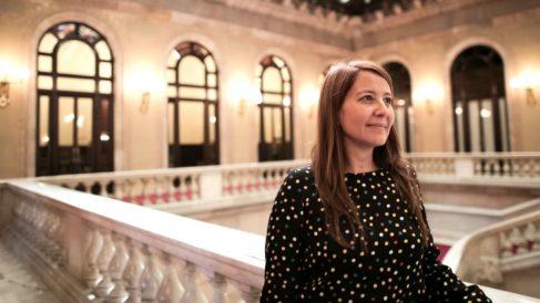 La número 5 de la lista de Ciudadanos al Parlament, Sonia Sierra.