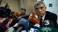Ángel María Villar dio su primera rueda de prensa en años. (AFP)