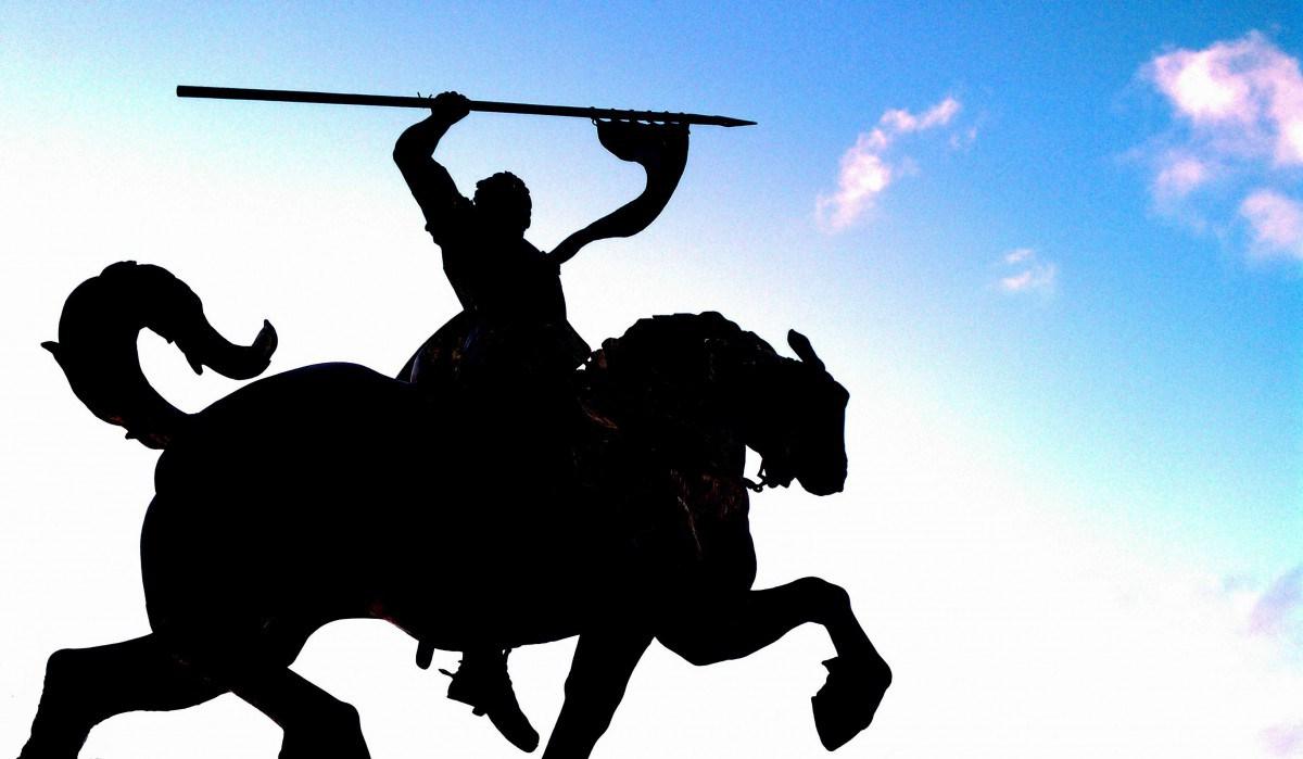 Estatua del Cid Campeador, Rodrigo Díaz de Vivar
