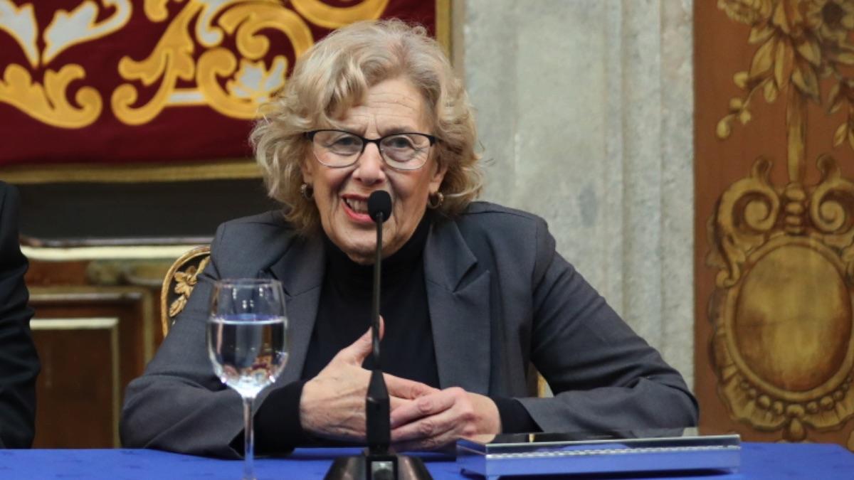 La regidora madrileña Manuela Carmena este martes. (Foto: Madrid)