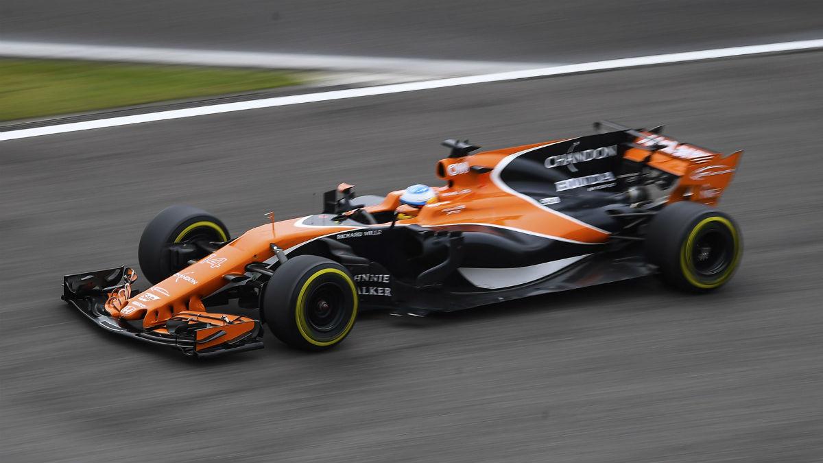 La llegada de Renault a McLaren hace que el optimismo crezca en el seno de la escudería, que por otro lado no quiere dejar de ser prudente antes de estrenar el coche de 2018. (Getty)