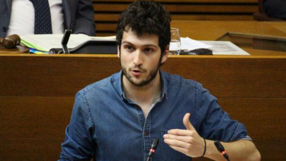 El secretario general de Podemos Valencia, Antonio Estañ.