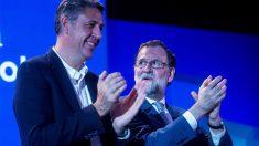 Xavier García Albiol y Mariano Rajoy (Foto: EFE)
